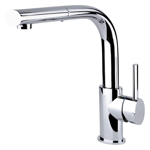 Gessi ovale Ovale Sink Mixer With Pull-Out Kitchen Taps & Mixers