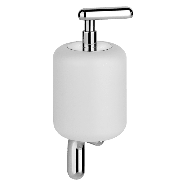 Gessi goccia Goccia Wall-mounted soap dispenser with white GRES glass. Accessories