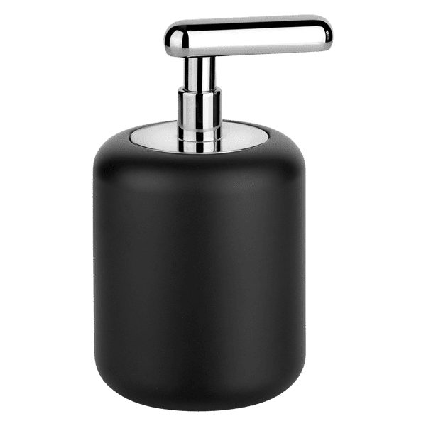 Gessi goccia Goccia Standing soap dispenser with black GRES glass. Accessories