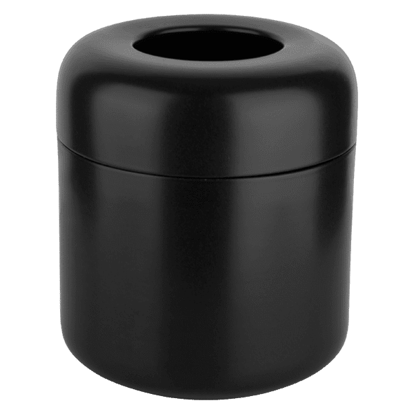 Gessi goccia Goccia Black GRES waste-paper basket. Accessories