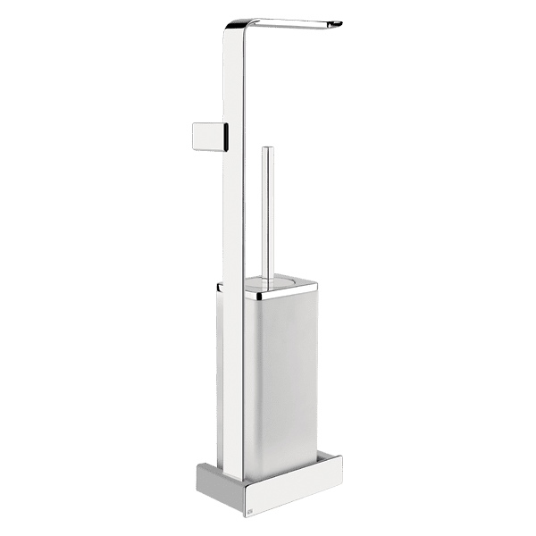 Gessi ispa ISPA Wall Mounted Toilet Brush and Toilet Roll Holder Accessories