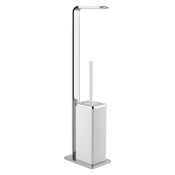 Gessi ispa ISPA Freestanding Toilet brush holder and Toilet Roll holder Accessories