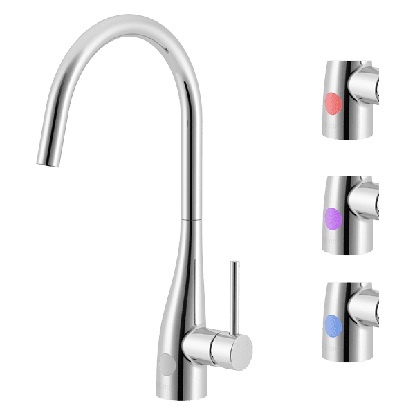 Gareth Ashton conic Conic Sidelever LED Sink Mixer Kitchen Taps & Mixers