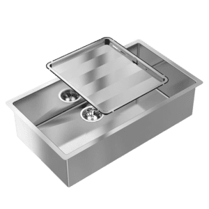 Abey abey-piazza Piazza Square Single Bowl Kitchen Sinks