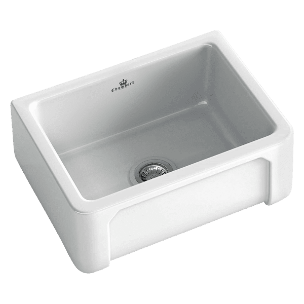Chambord chambord-henri Chambord HENRI Single bowl ceramic Kitchen Sinks