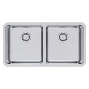 Abey lago Lago Undermount Double Bowl Kitchen Sinks