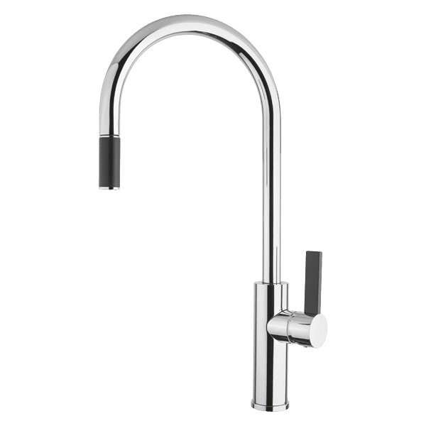 Armando Vicario luz Luz Gooseneck Pull-Out Mixer Kitchen Taps & Mixers