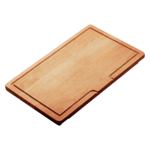 Abey abey-abey Sliding Bamboo Cutting Board Sink Accessories