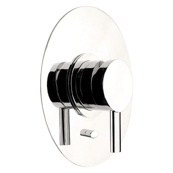 Gessi ovale Ovale Bath/Shower Mixer with Diverter Wall & Basin Mixers