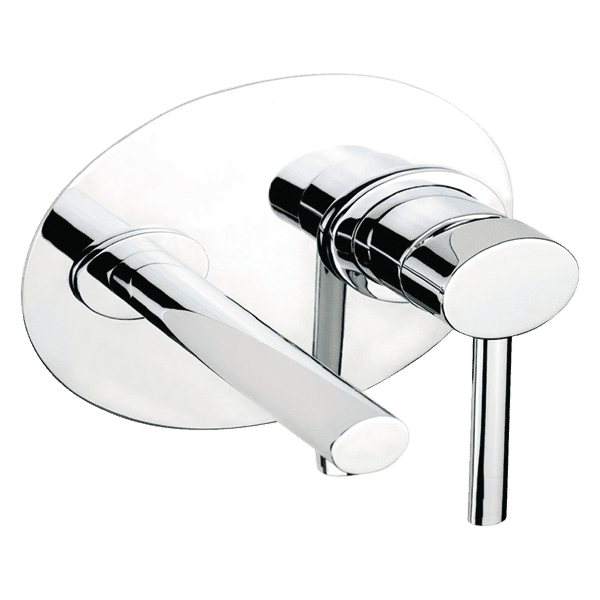Gessi ovale Ovale Wall Mixer With Spout Wall & Basin Mixers