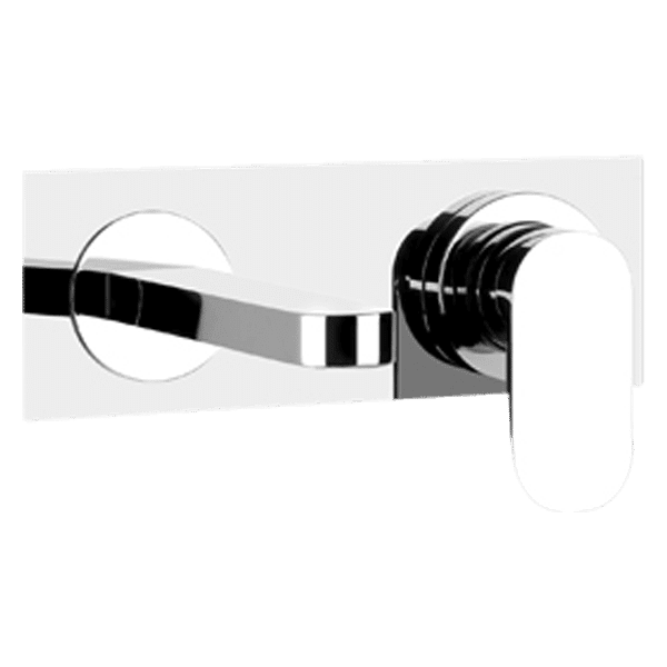 Gessi Emporio via-bagutta Via Bagutta Wall Spout and Mixer on Plate Wall & Basin Mixers