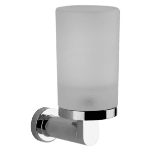Gessi Emporio emporio Emporio Wall Mounted Tumbler Holder in White Glass Accessories