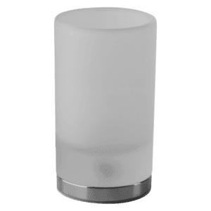 Gessi Emporio emporio Emporio Standing Tumbler Holder in White Glass Accessories
