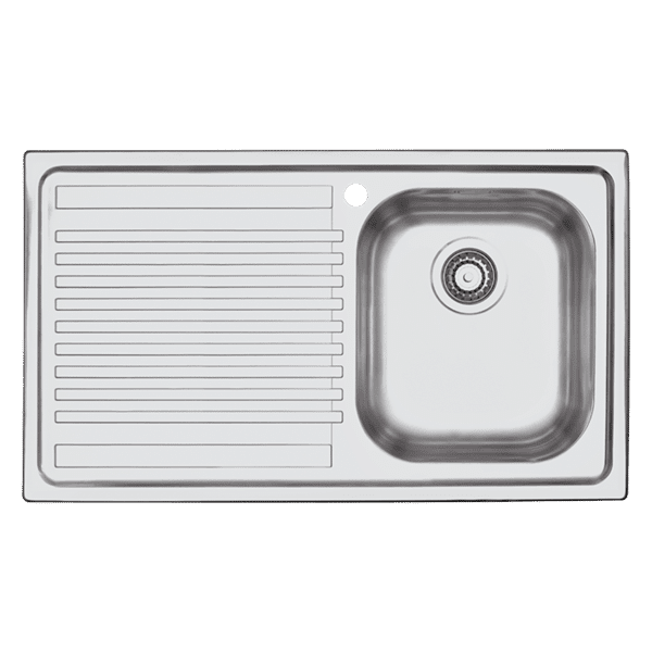 Barazza b-fast B-Fast Single Bowl & Drainer Kitchen Sinks