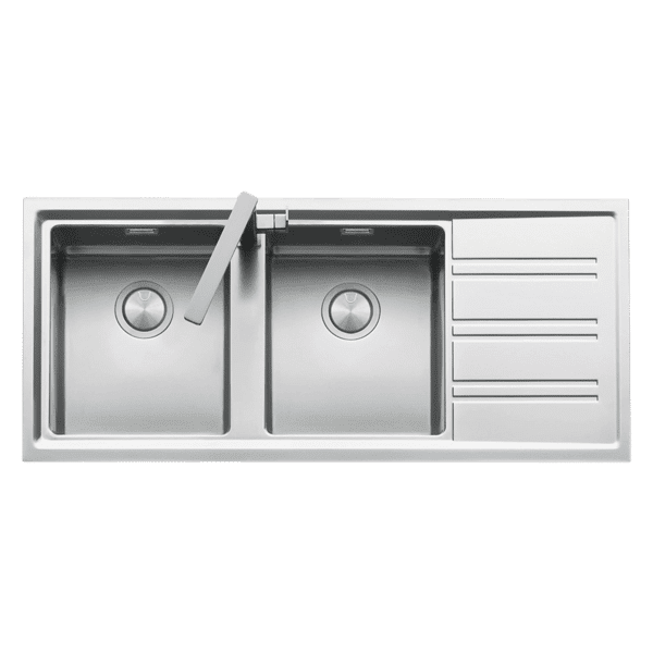 Kitchen Kitchen Sinks | Easy Double bowl & drainer | Abey