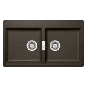 Schock horizont Schock Bronze Double Bowl Kitchen Sinks
