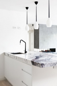 Armando Vicario TINK D-B Pull Out Mixer Kitchen Completed by Canny (Hawthorn East Victoria)