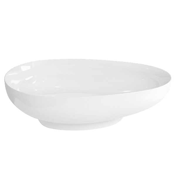 Gareth Ashton clearwater-stone Tear Drop ClearStone Basin With Chrome Waste Basins