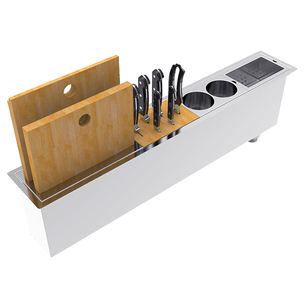 Abey  Canale Slim 900 Sink Accessories