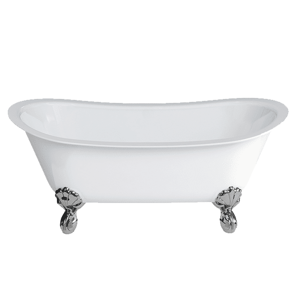 Gareth Ashton clearwater-stone Batello ClearStone Bath with Claw Feet Freestanding Baths