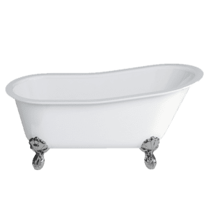 Gareth Ashton clearwater-stone Romano Grande ClearStone Bath with Claw Feet Freestanding Baths