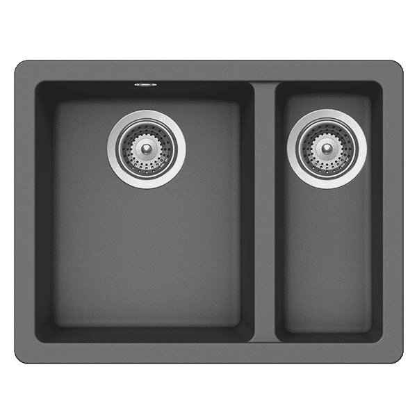 Schock quadro Schock Quadro One & 1/2 Bowl Croma Kitchen Sinks