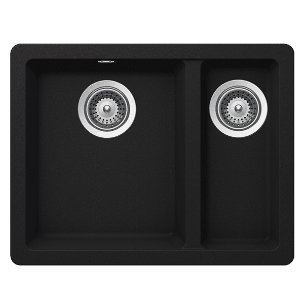 Schock quadro Schock Quadro One & 1/3 Bowl Onyx Kitchen Sinks