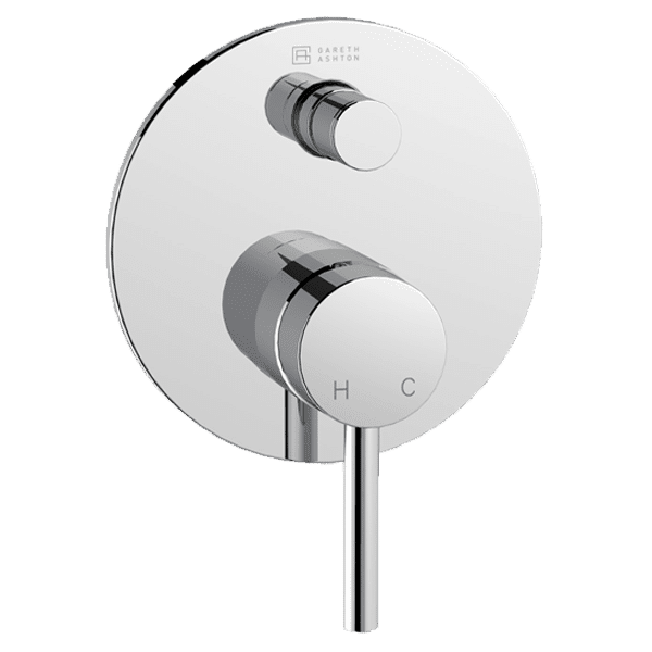 Gareth Ashton lucia Lucia Complete Shower/Bath Diverter Mixer For 70mm Wall Cavities Wall & Basin Mixers