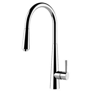 Gessi just Just Pull Out Colour Mixer with Pull Out Kitchen Taps & Mixers