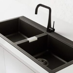 black kitchen sinks