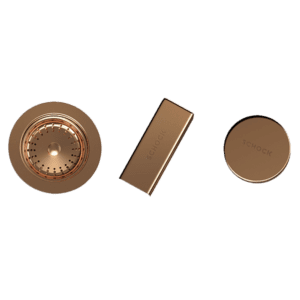Schock schock Schock Sink Trim Kit Rose Gold Sink Accessories