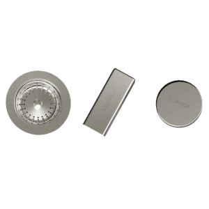 Schock schock Schock Sink Trim Kit Brushed Nickel Sink Accessories