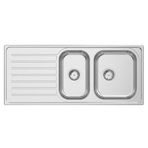 Kitchen Kitchen Sinks | Euronox 1 & 1/2 Bowl | Abey