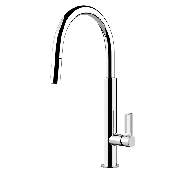 Gessi Emporio emporio Oxygene Pull Out Dual Function Spray Kitchen Mixer Kitchen Taps & Mixers