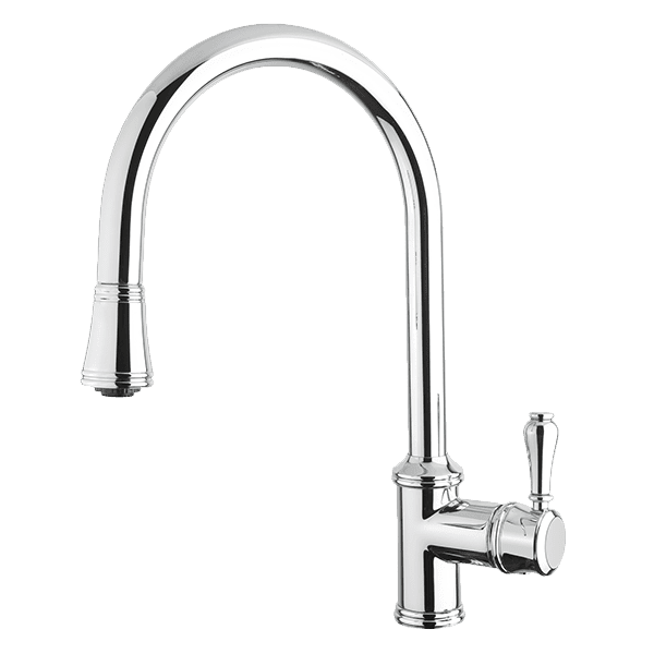 Armando Vicario provincial Provincial Single Lever Kitchen Mixer with Pull Out Kitchen Taps & Mixers