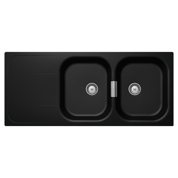Schock Wembly Schock Wembley Magma Double Bowl Kitchen Sinks