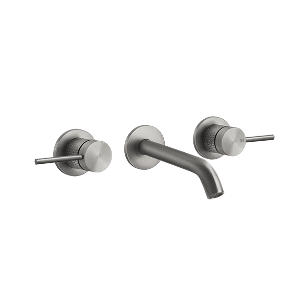 Gessi 316-cesello Cesello 316 Wall Mixer 3 Holes Wall & Basin Mixers