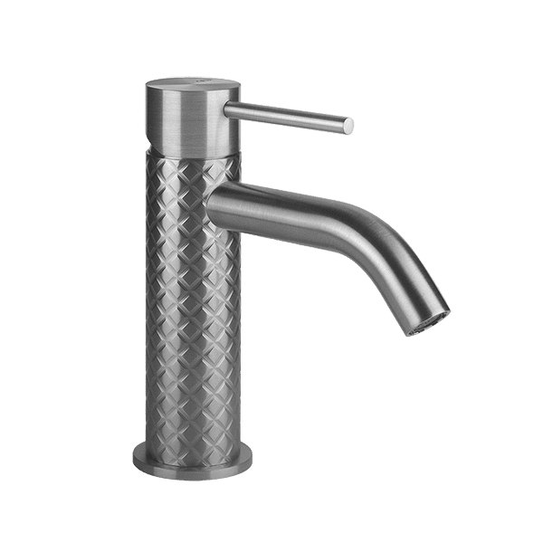 Gessi 316-intreccio Intreccio 316 Basin Mixer No Pop Up Waste Wall & Basin Mixers