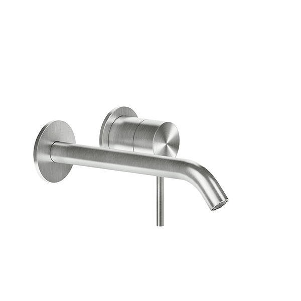 Gessi 316-flessa Flessa 316 Wall Mixer with Spout without Plate Wall & Basin Mixers