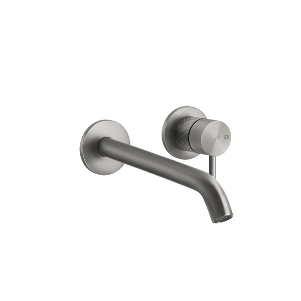 Gessi 316-intreccio Intreccio 316 Wall Mixer with Spout without Plate Wall & Basin Mixers