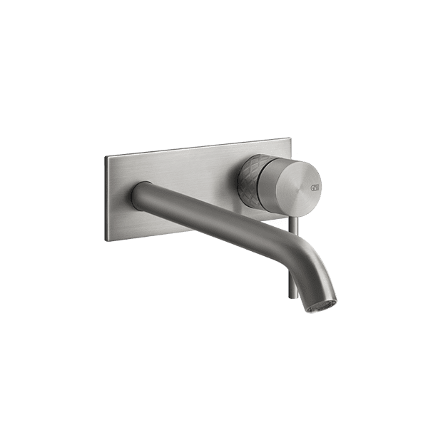 Gessi 316-intreccio Intreccio 316 Wall Mixer with Spout with Plate Wall & Basin Mixers