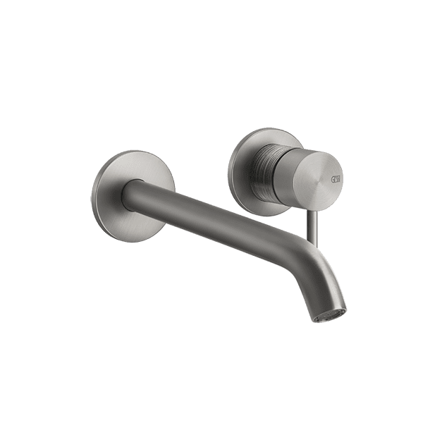 Gessi 316-trame Trame 316 Wall Mixer with Spout without Plate Wall & Basin Mixers