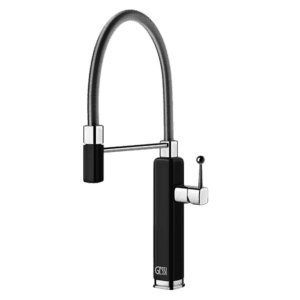 Gessi Happy Happy Sink Mixer with Pull-Out Kitchen Taps & Mixers