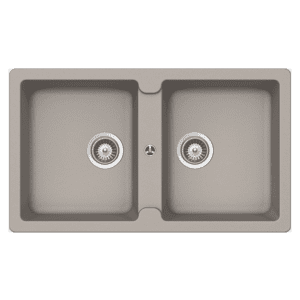 Schock typos Schock Typos Double Bowl Concrete Kitchen Sinks