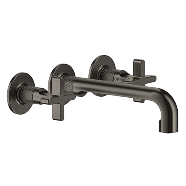 Gessi inciso Inciso Wall Mounted Three-Hole Basin with Spout without Waste Wall & Basin Mixers