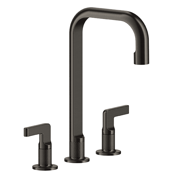 Gessi inciso Inciso Three-Hole Basin Mixer without Waste Wall & Basin Mixers