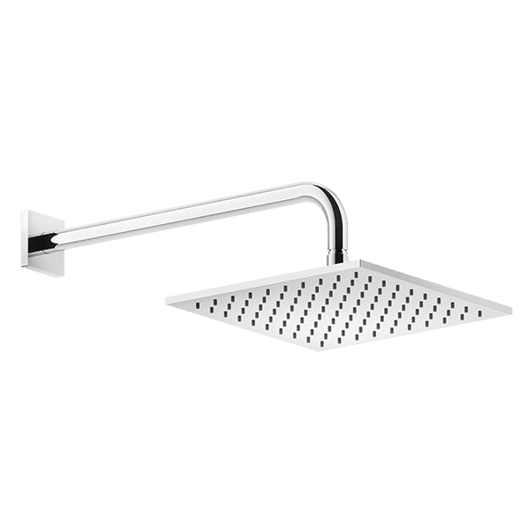 Gessi rilievo Rilievo Wall Mounted Square Showerhead Showers