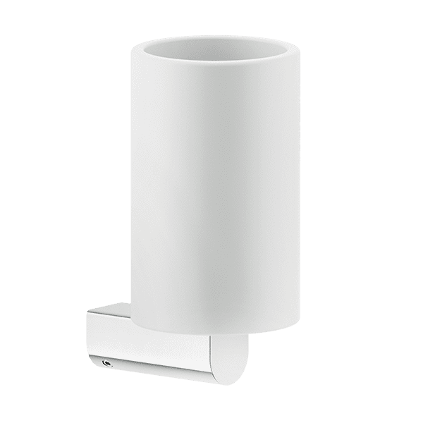 Gessi rilievo Rilievo Wall Mounted Tumbler Holder (White) Accessories
