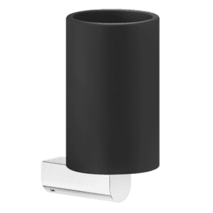 Gessi rilievo Rilievo Wall Mounted Tumbler Holder (Black) Accessories