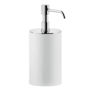 Gessi rilievo Rilievo Standing Soap Dispenser Holder (White) Accessories